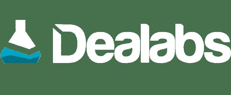 Logo en blanc de Dealabs