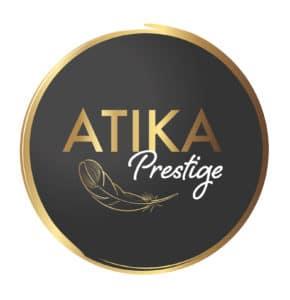 logo du salon de coiffure Atika Prestige